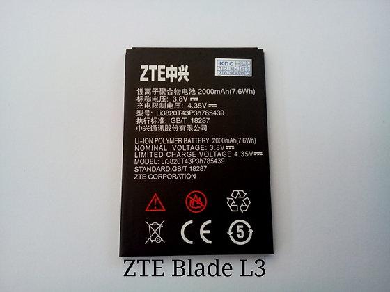 АКБ для ZTE Blade L3