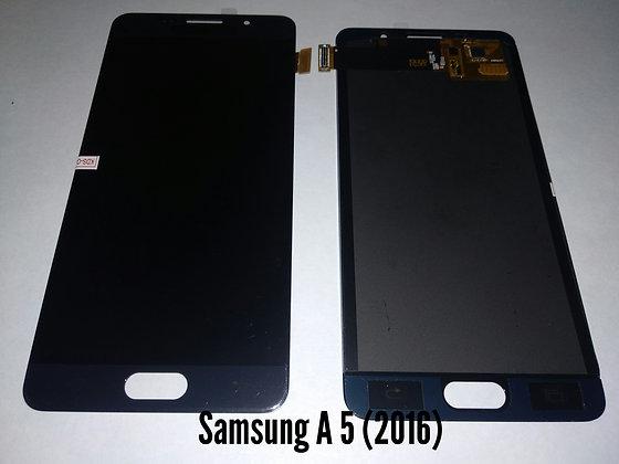 Дисплей для Samsung A5 (2016)/A510F + Touch чёрный  (регулируемая подсветка)