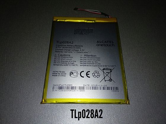 АКБ для Alcatel TLP028A2 One Touch Pixi 3 orig.