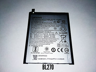АКБ для Lenovo BL270_K6 Note orig.jpg