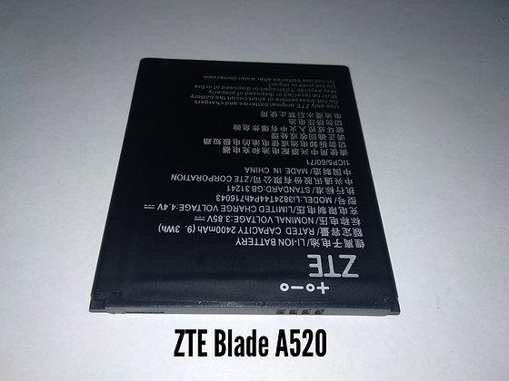 АКБ для ZTE Blade A520