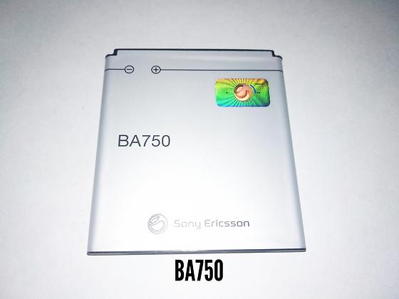 АКБ  Sony Ericsson BA-750