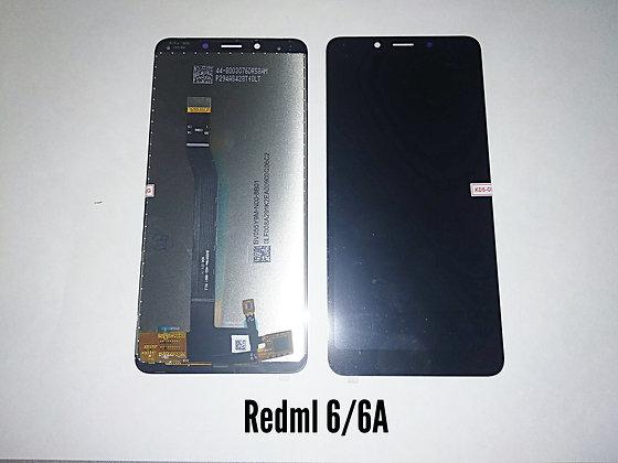 Дисплей для Xiaomi Redmi 6/6A + touch чёрный orig.
