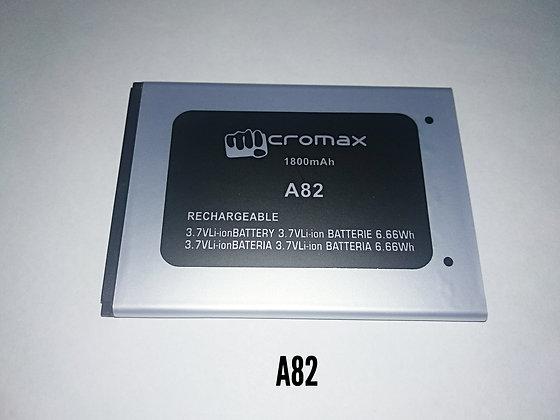 АКБ для Micromax A82