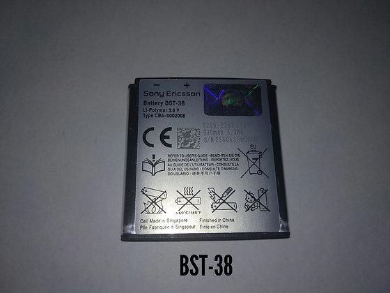 АКБ для Sony Ericsson BST-38