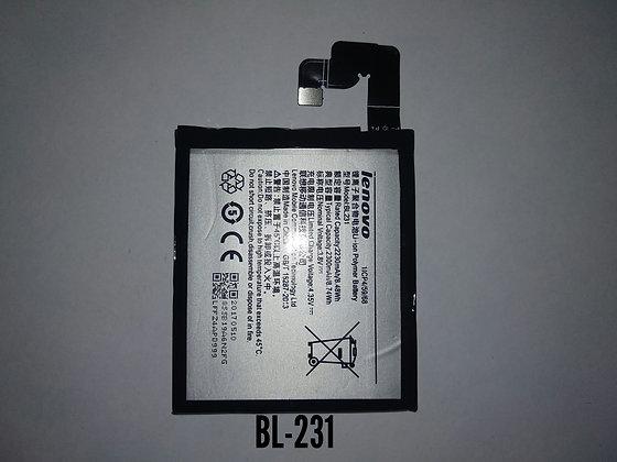 АКБ для Lenovo BL231