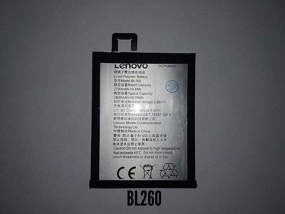 АКБ для Lenovo BL260/Vibe S1 Lite