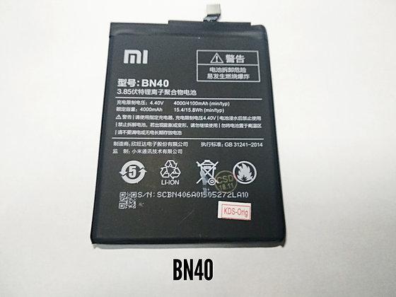 АКБ для Xiaomi BN40 RedMi 4Pro orig.