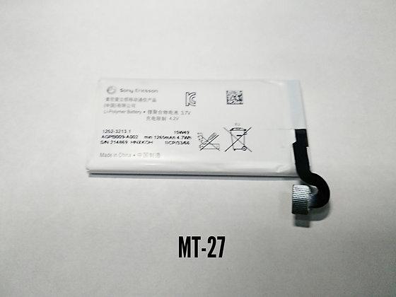 АКБ Sony MT-27