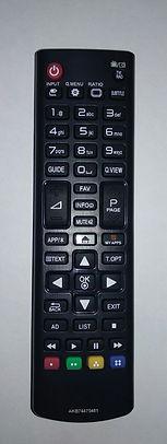 LG AKB74475481пульт для телевизора LG 32LF592U Иркутск