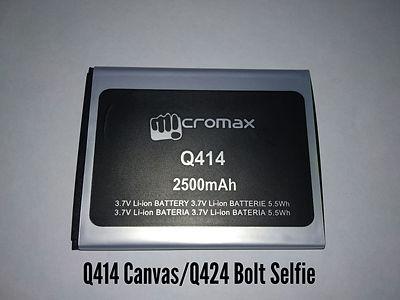 АКБ для Micromax Q414 .jpg