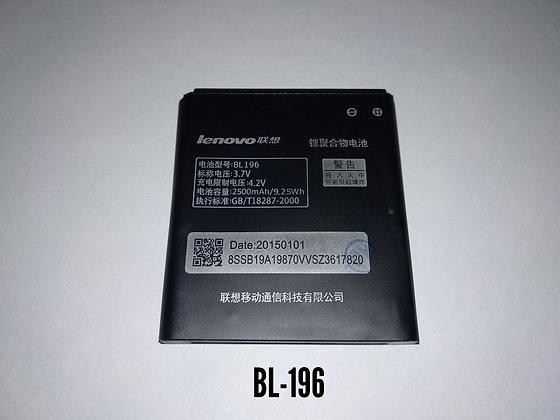 АКБ для Lenovo BL196