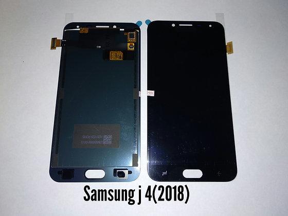 Дисплей для Samsung J4 (2018)/J400F + Touch чёрный (регулируемая подсветка)