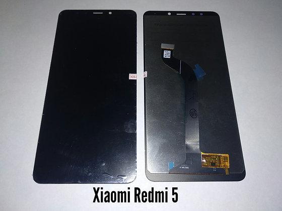 Дисплей для Xiaomi Redmi 5 + touch чёрный orig.