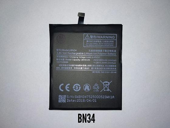 АКБ для Xiaomi BN34 Mi 5A orig.