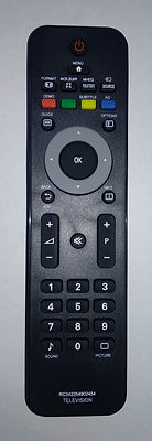 PHILIPS 2422 549 02454, RC4747 пульт для телевизора Philips 22PFL3404/60 Иркутск