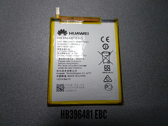 АКБ для HUAWEI HB396481EBC G7 Plus/G8/Honor 5X/Y6II (cam L21) orig.