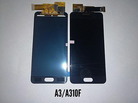 Дисплей для Samsung A3 (2016)/A310F + Touch чёрный (регулируемая подсветка)