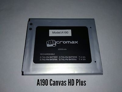 АКБ для Micromax A190 .jpg
