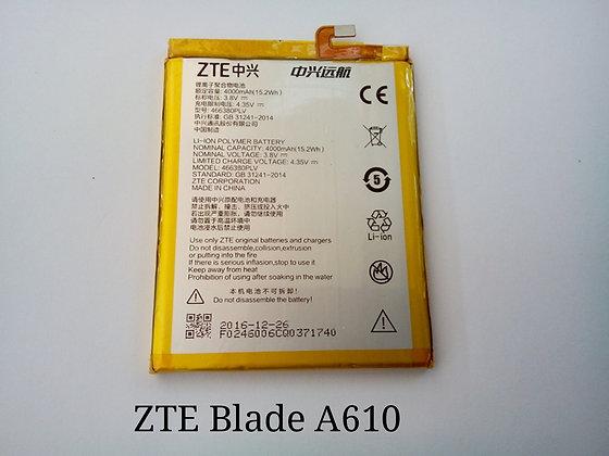 АКБ для ZTE Blade A610