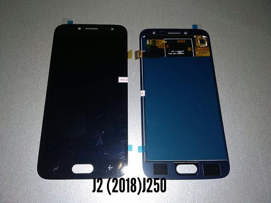 Дисплей для Samsung J2 (2018)/J250 + Touch чёрный (регулируемая подсветка)