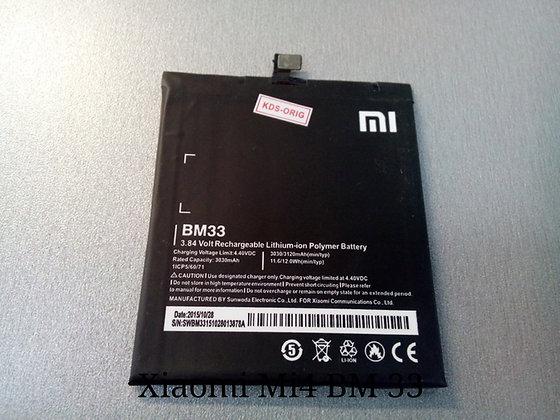 АКБ для Xiaomi BM33 Mi4i orig.