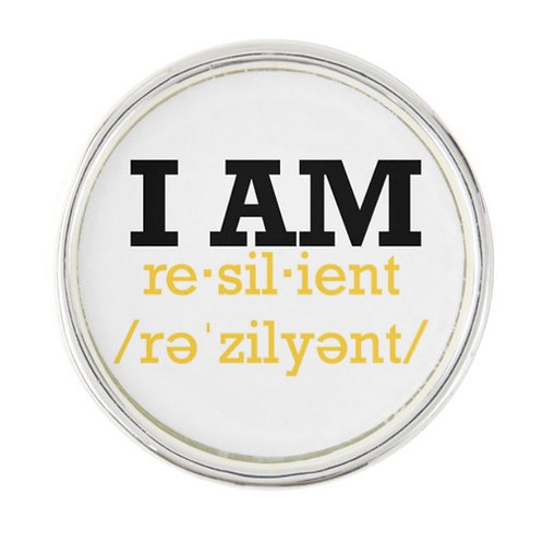 "Custom ""I Am Resilient"" Lapel Pins"