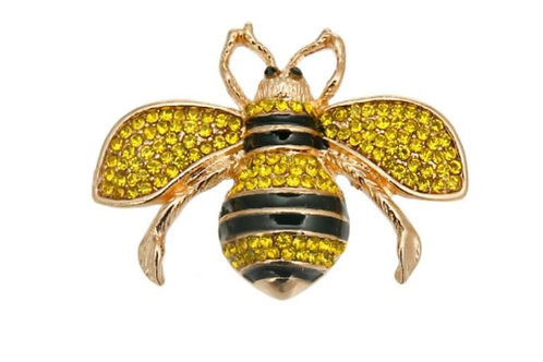 """Custom """"I Am Resilient"""" Bee Pin"""
