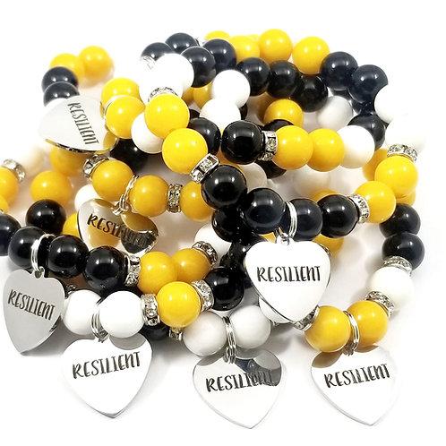 Custom RESILIENT bracelet