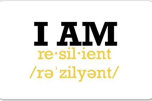"""""""I AM RESILIENT"""" Gift Card"""
