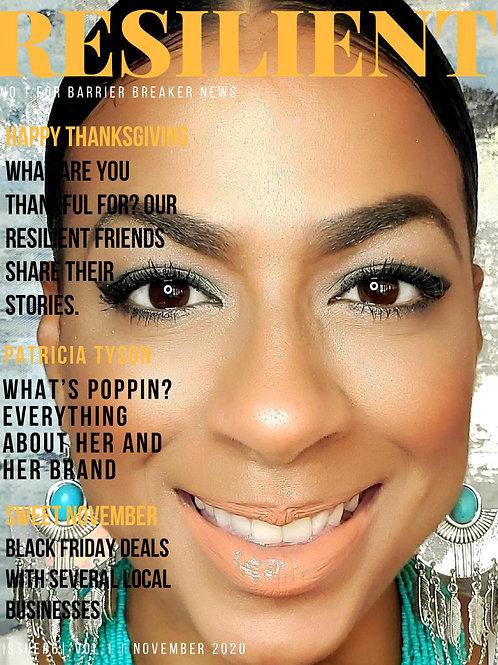 Resilient Magazine November '20