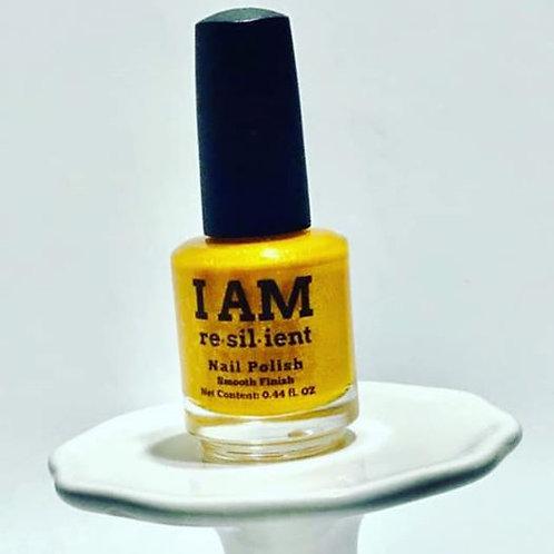 "Custom ""I AM RESILIENT"" Nail Polish"