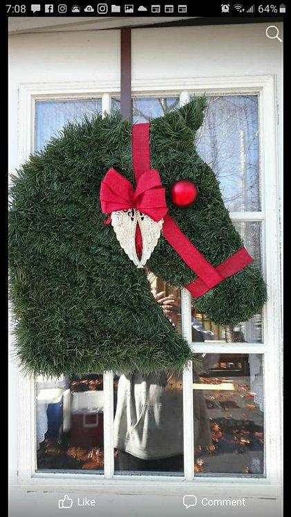 In Memory Horse Wreath