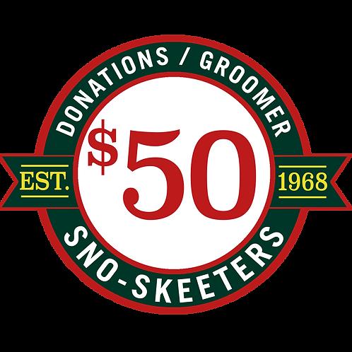 $50 DONATION / SPONSOR A GROOMER!