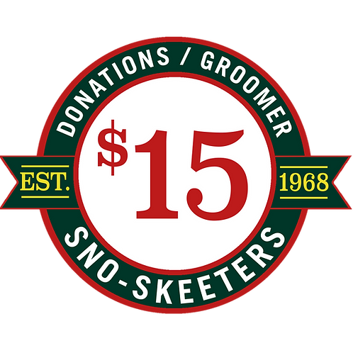 $15 DONATION / SPONSOR A GROOMER!