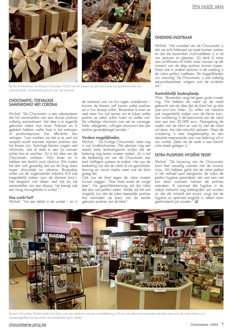 Magazine Chocolaterie 3