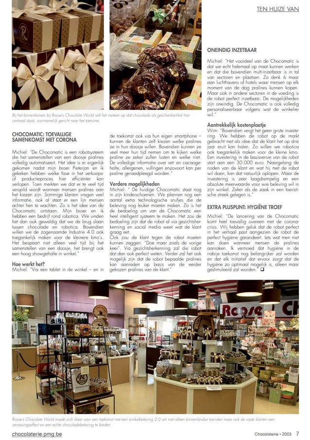 Magazine Chocolaterie 3