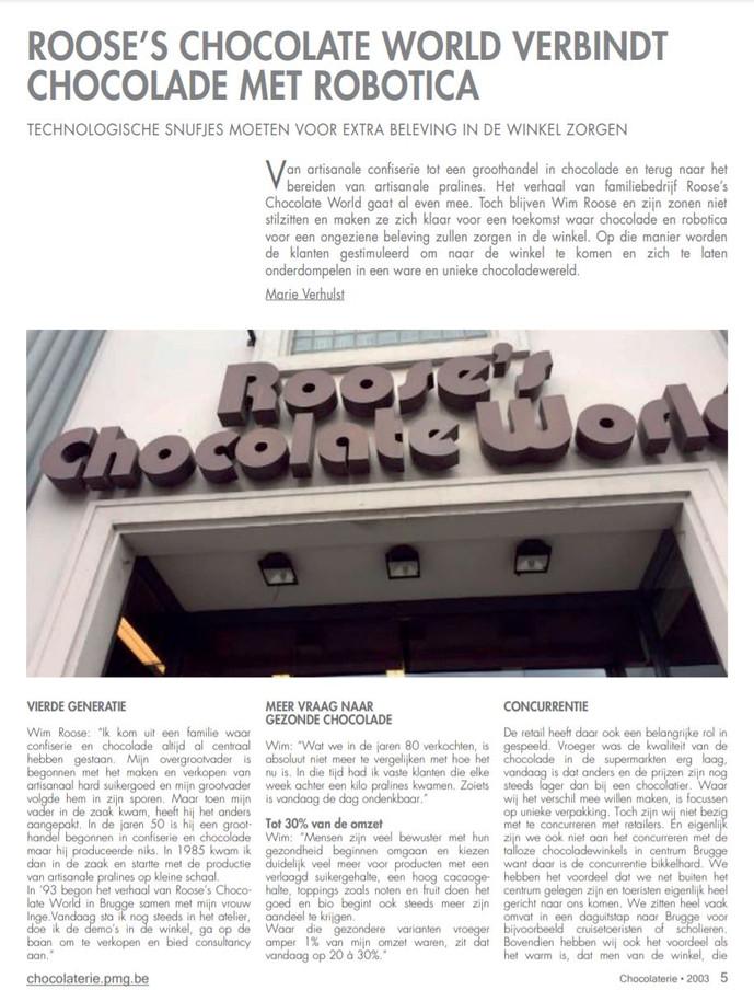 Magazine Chocolaterie 1