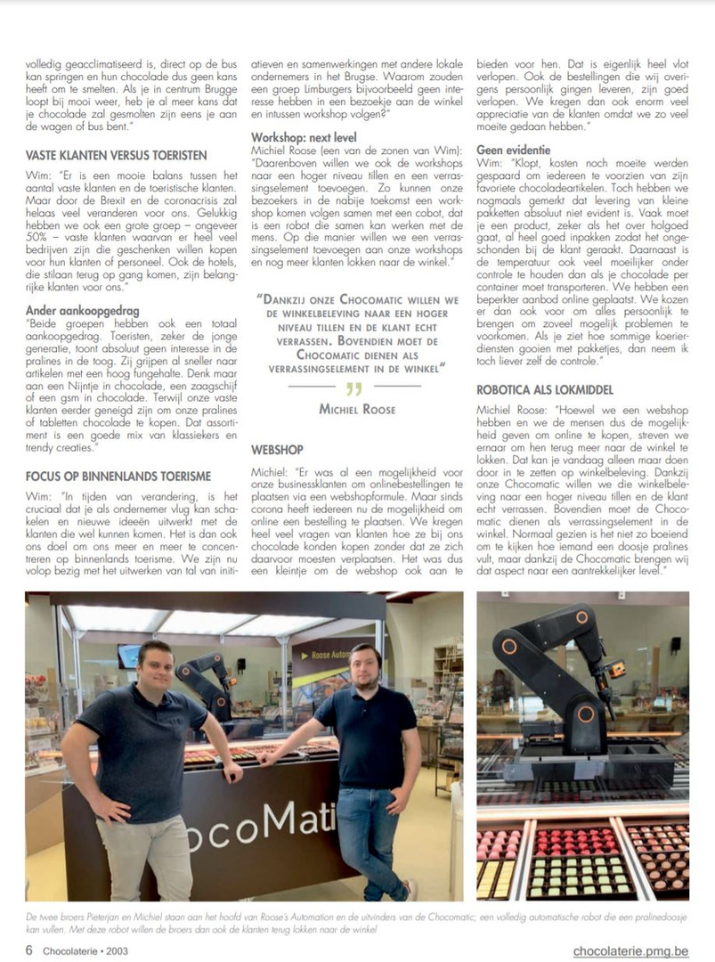 Magazine Chocolaterie 2