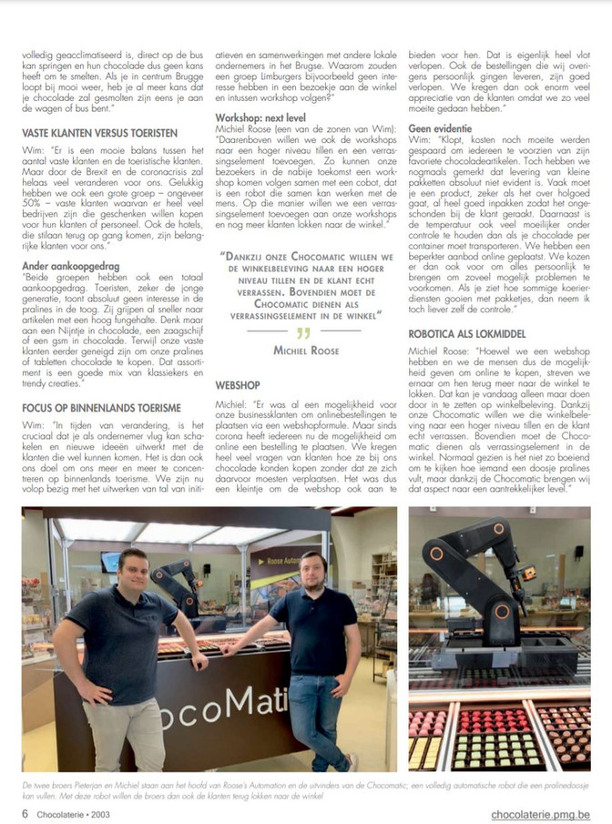Magazine Chocolaterie 2