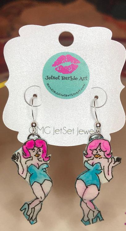 Pinup Bombshell Earrings