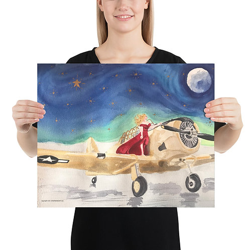 Navy Spokesmodel Poster on Photo paper - 5 sizes available