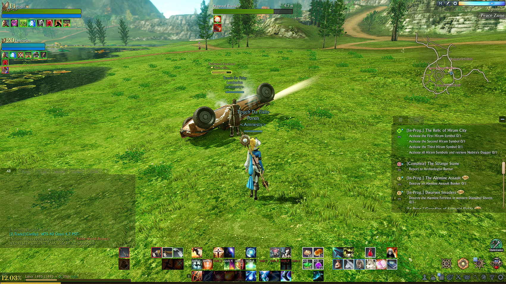 Amnesty Guild Archeage Unchained Flipping Car