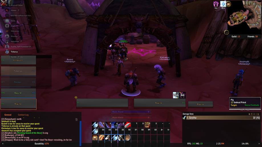 Amnesty Guild World of Warcraft Classic