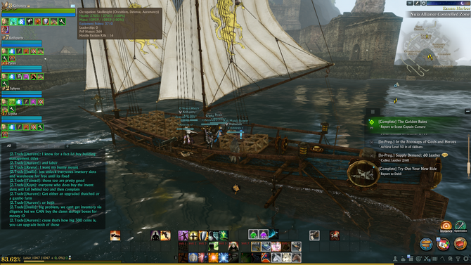 Amnesty Guild Archeage Unchained Naval Trade Run