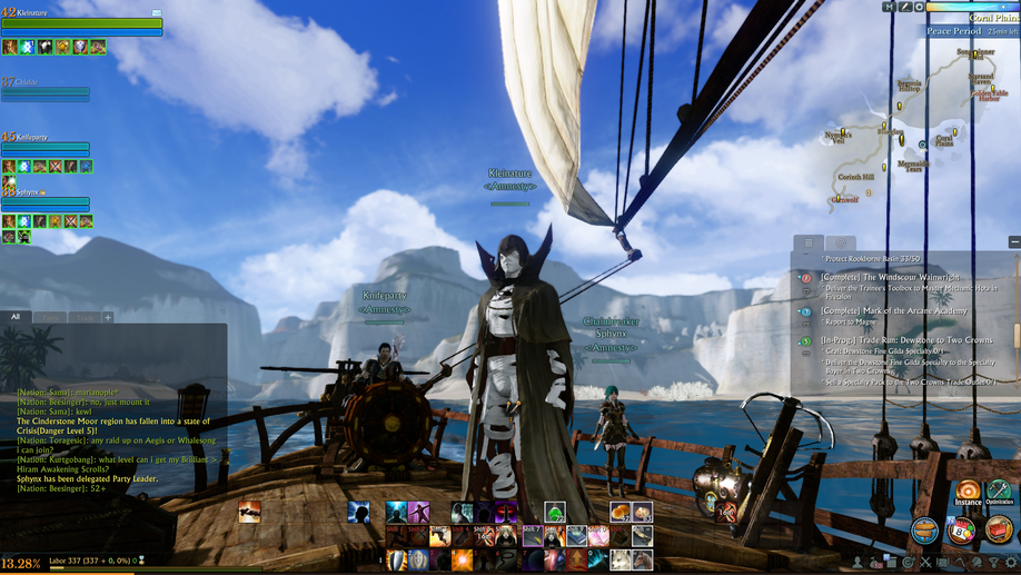 Amnesty Guild Archeage Unchained Sailing
