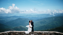 "Extraordinary Real Wedding: Kristi & Dave's Wedding ""On top of the World"""