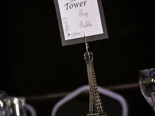 Extraordinary Real Wedding : Clare & Rob's Parisian Themed Day