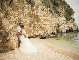 Extraordinary Real Wedding: Karen and Gareth's Greek Island Paradise