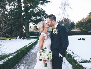 Extraordinary Real Wedding: Owen & Olivia's Winter Wonderland at Stapleford Park